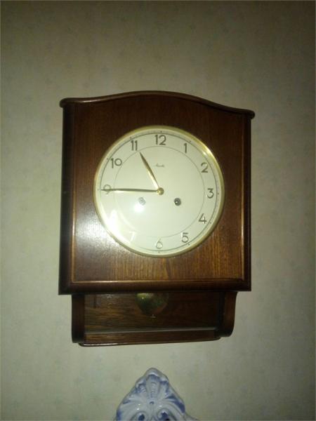 Orologio a pendolo Mauthe da muro 1963 vendo